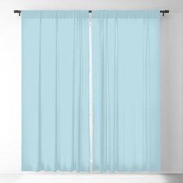 Blue Plume Blackout Curtain