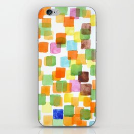 First Squares Pattern  iPhone Skin