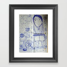 Making Music Framed Art Print