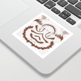 Red Land 7 Sticker
