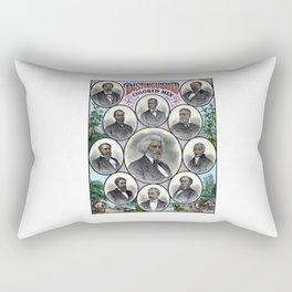 Distinguished Colored Men Rectangular Pillow