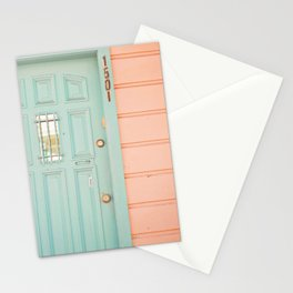 Pastel House Stationery Cards