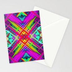 Colorful digital art splashing G475 Stationery Cards