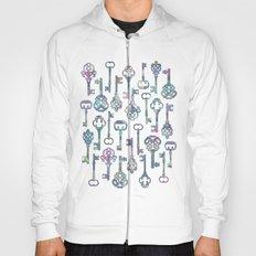 Pastel Skeleton Keys Hoody