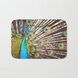 Describe Beauty: Peacock Bath Mat