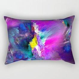 Electric Marble Rectangular Pillow