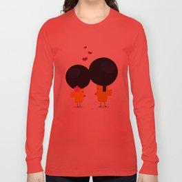 Afro Love Long Sleeve T-shirt