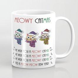 Meowy Catmas (Christmas) Coffee Mug