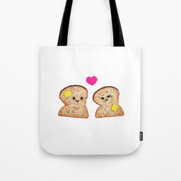 Toasty Love Tote Bag