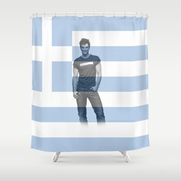 ESC Greece 2004 Shower Curtain