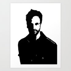 Jonny Lee Miller Art Print