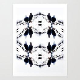 Crystal Birds Art Print