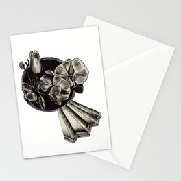 crystals and flowers Stationery Cards