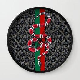 Black Guuci Wall Clock
