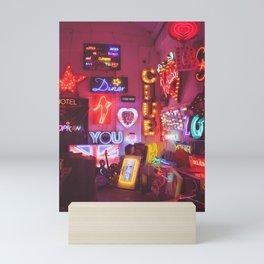 God's own junkyard Mini Art Print