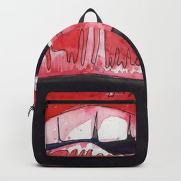 Rocky Horror Sexy Lips Backpack