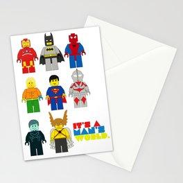 It's a man;s world Stationery Cards