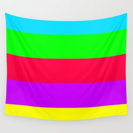 Neon Mix #2 Wall Tapestry