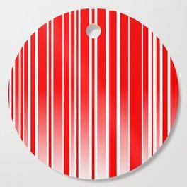 Red Track Cutting Board