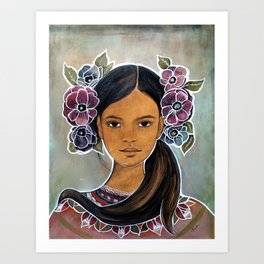 Eleonora Art Print