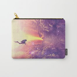 Color diving Carry-All Pouch