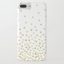STARS GOLD iPhone Case