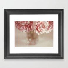 I believe in pink Framed Art Print