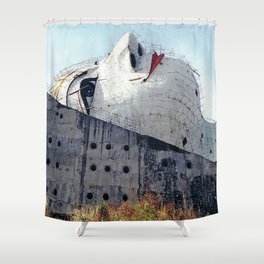 Facelift Shower Curtain