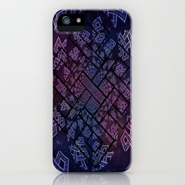 Tibetan Knot/Seed of life  iPhone Case