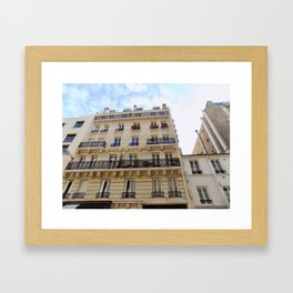 Paris France Downtown Framed Art Print