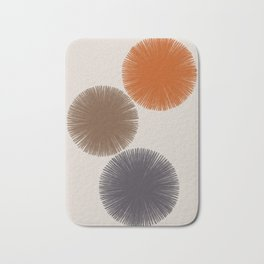 Abstract Circles III Bath Mat