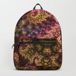 Dragon dreams, fractal pattern abstract Backpack