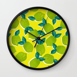 Limes for daysss Wall Clock