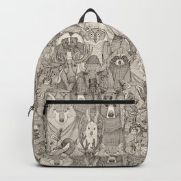 canadian animals natural Backpack