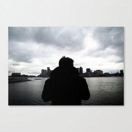 To Boston Canvas Print