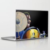 jazz Laptop & iPad Skins featuring Jazz by ink0023