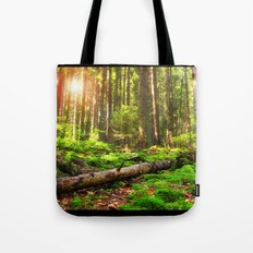 Back to Green Tote Bag