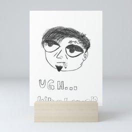 Emo Steve Mini Art Print