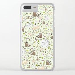 Ferret Magic Clear iPhone Case