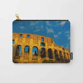 Sunset Over The Roman Colosseum Carry-All Pouch