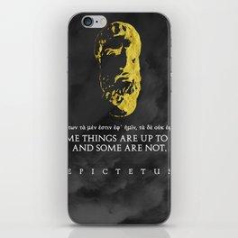 Epictetus - Stoicism iPhone Skin