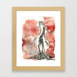 Walk on the wildside Framed Art Print