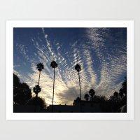 Beautiful Cloudy Sky Art Print