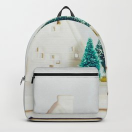 Minimal Christmas Trees (Color) Backpack