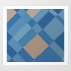 Palm Springs Blue 45 Art Print
