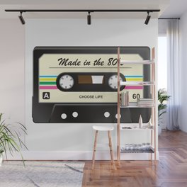 Made in the 80's Wall Mural