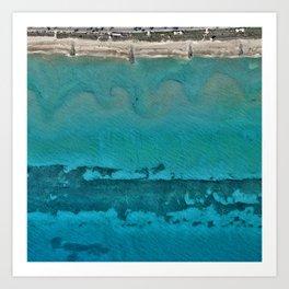 Coast 05 Art Print