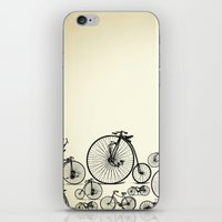 bicycle iPhone & iPod Skins featuring Bicycle by mark ashkenazi