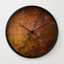 Old Metal Door Wall Clock