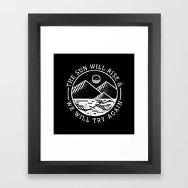 truce II Framed Art Print